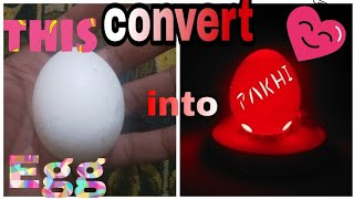Download Handcraft for special one [carving a name on egg special craft ] My moon Video