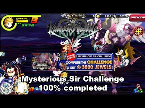 Kingdom Hearts Union X -  Mysterious Sir Challenge