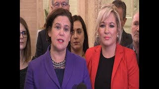 Decision time on talks is NOW - Sinn Féin leaders tell governments