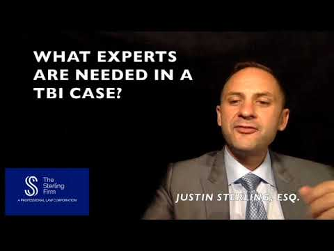 WHAT EXPERTS ARE NEEDED IN A TRAUMATIC BRAIN INJURY CASE?