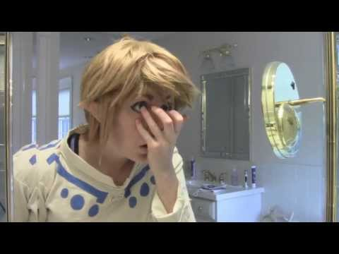 Cosplay Makeup & Wig Mini-Tutorial - Skyward Sword Link HD