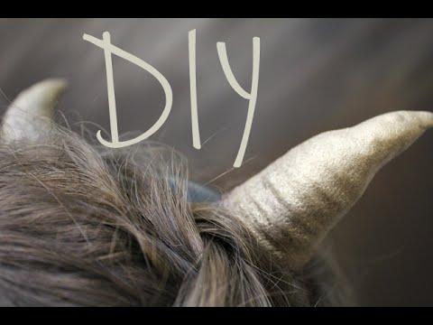 DIY: Faun Horns
