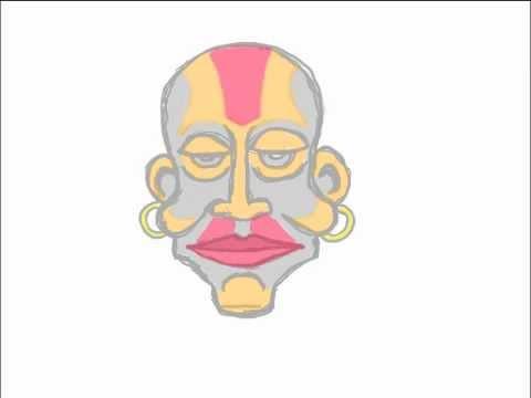 An African Mask