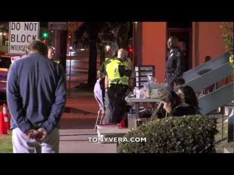 LAPD Sobriety and Drivers License Checkpoint in venice