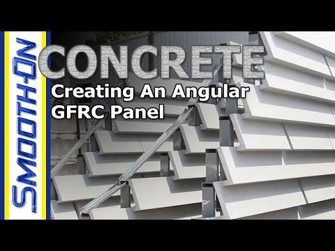 Creating an Angular GFRC Panel - Featuring: GFRC Cladding Systems
