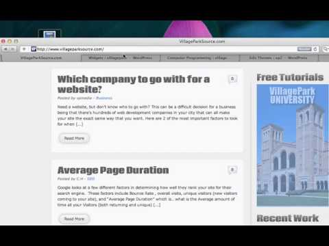 18. Wordpress - How to add widgets (Adding text, pictures, link, media)