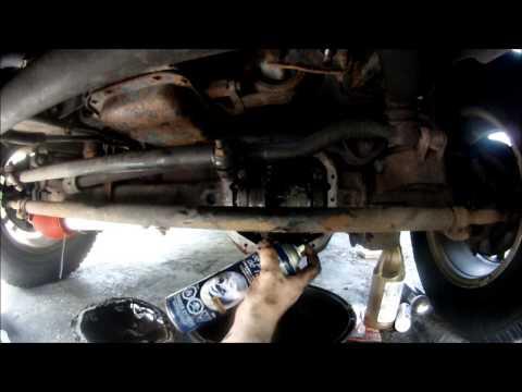 Front Diff  Fluid Change Jeep WJ