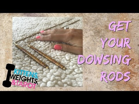 Get Your Dowsing Rods!