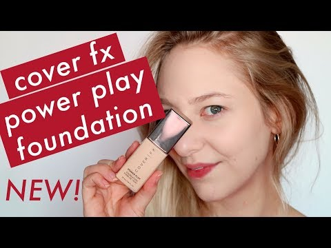 COVER FX POWER PLAY FOUNDATION - FIRST IMPRESSIONS