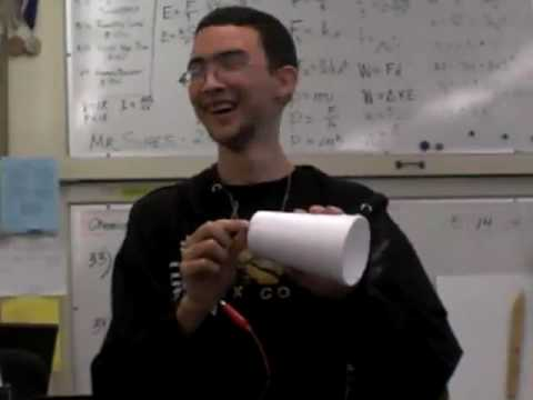 AP Physics: Making Speakers out of foam cups