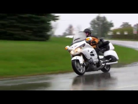 Motorcycle Experience, Winging It: Rain Riding