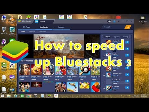 Bluestacks 3 speed fix