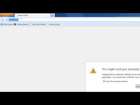 How to Open Javascript popups as tabs in Firefox Step BY Step Tutorial