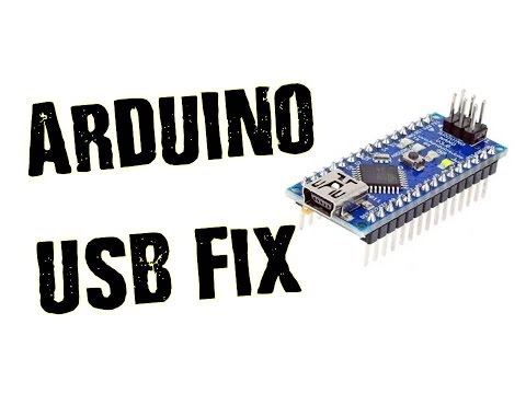Arduino & Serial Programmer USB Error FIX! -CH340 Driver