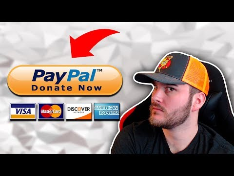 💲How To Setup PayPal Donations💲