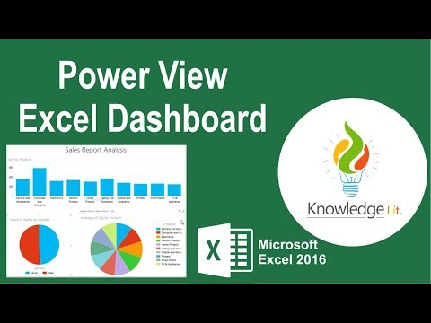 Power View in Excel 2016