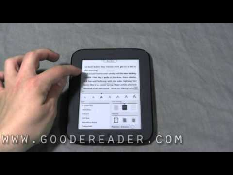 Barnes and Noble Nook Simple Touch Reader - Nook 2 Review