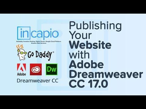 How to Set Up Dreamweaver via SFTP to upload a website | GoDaddy | 2017