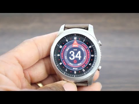 Top 5 Gear S2/S3 Watch Faces (Work Week Edition)