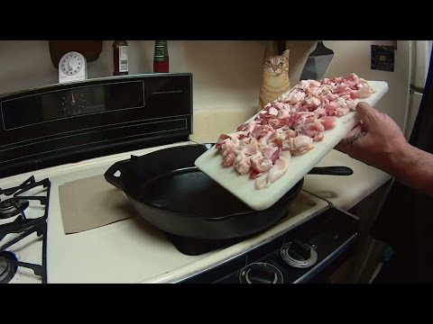 Cast Iron Cooking Bacon Seasoning