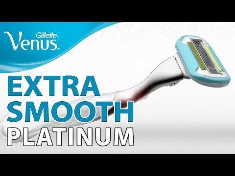 Gillette Venus Extra Smooth Platinum: Skin That Feels Extra Smooth | Gillette Venus