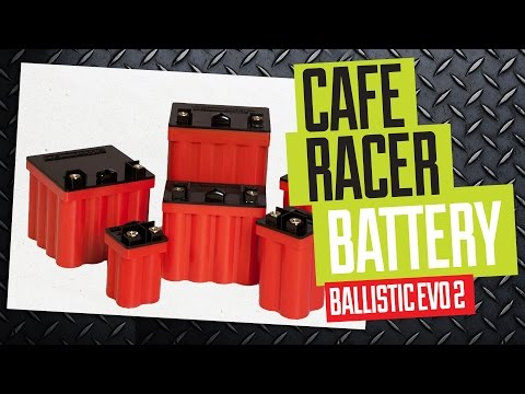 Cafe Racer Battery - Ballistic Evo 2 facts & installation