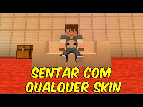 MINECRAFT - COMO SENTAR COM QUALQUER SKIN (Xbox 360, Xbox One, PS3, PS4, PS Vita, Wii U)