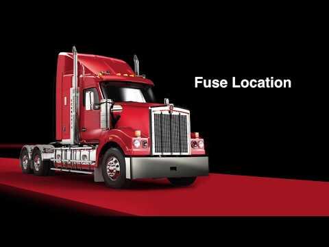 009 T610 Driver Training fuse location
