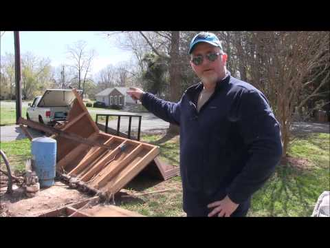 How to Get Rid of an Ugly Well House, Rock Cover Replacement