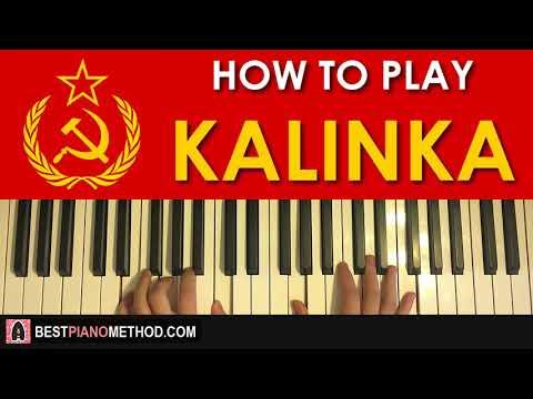 HOW TO PLAY - KALINKA (Piano Tutorial Lesson)