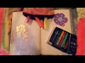 FLIP THROUGH My Small Black Journal: Gratitude Page & Brochure Recycling