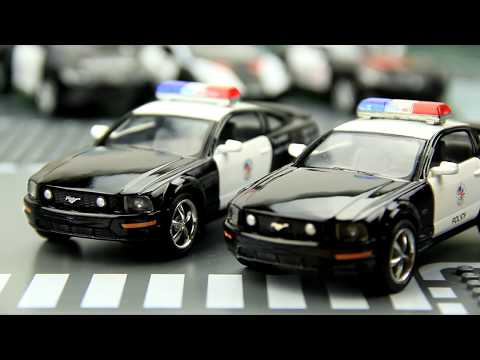 A Parade of Police Cars for Kids