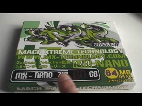 Macbook Air or iPod Video SSD Upgrade with Mach Xtreme Technology Nano ZiF