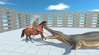 NEW RIDER UNIT HUSSAR in Cage vs ALL UNITS Animal Revolt Battle Simulator