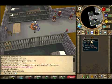 Runescape - How To Get A Dusty Key
