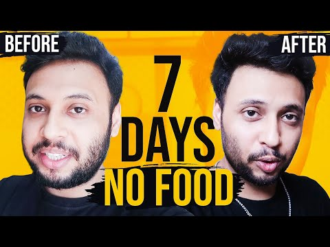 7 Day Water Fast No Food For A Week Before And After MP3, Video MP4
