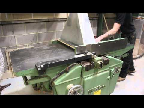 Wadkin FM24 Wood Planer Thicknesser with Dust Extraction