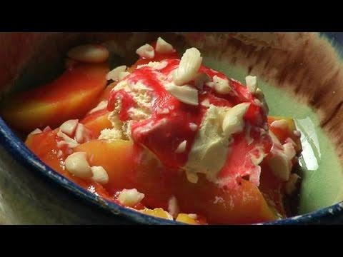 How To Prepare Peach Melba