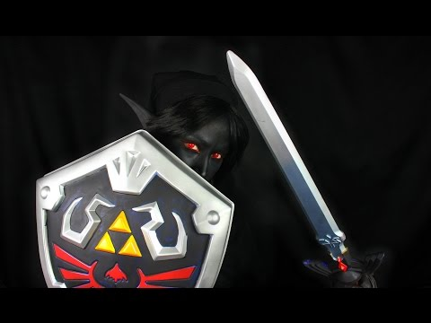 Shadow Link |  Zelda Collaboration | Cosplay Makeup Tutorial