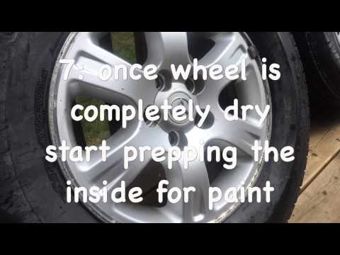 How to prep wheels for plasti-dip (Best Results)