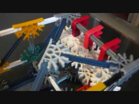 (old) K'nex Gone Wild - Mechanical Arm How To (part one)