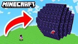 ALEX AND DENIS BUILD THE BIGGEST PROTECTION!! - Minecraft Bedwars