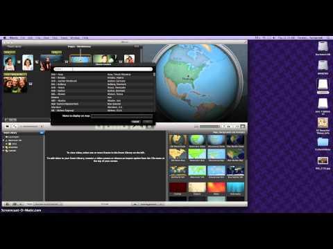 Making Slideshows using iMovie 11 - Part 2