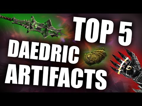 Skyrim - Top 5 Daedric Artifacts