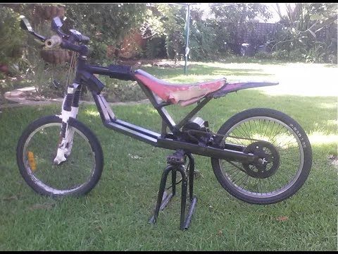 DIY 48v 1500w mid drive e bike. Fast