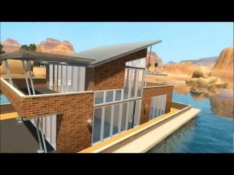 The Sims 3 Tutorial - Lucky Palms Roof Style