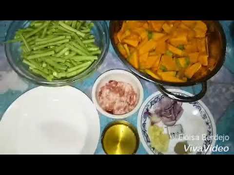 How to: Ginataang Kalabasa at Sitaw