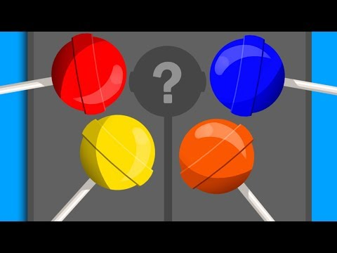 Lollipop Colors | Educational Video | Learn English | Video for Children and Babies