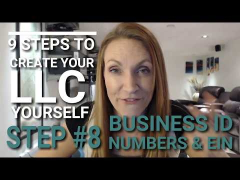 Do You Need A EIN? Knowing Your Business ID Numbers (Form your LLC Business in 5 Days)