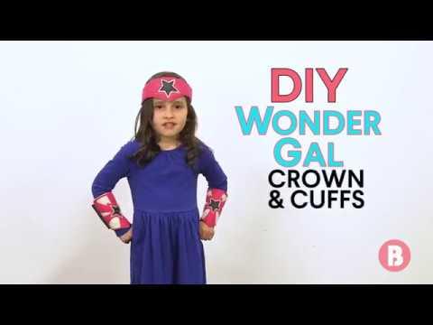 DIY Wonder Gal Costume
